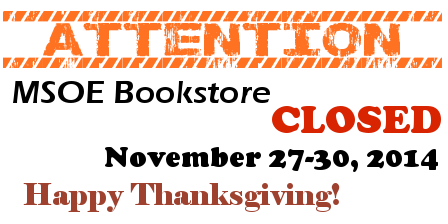 attention: closed thanksgiving