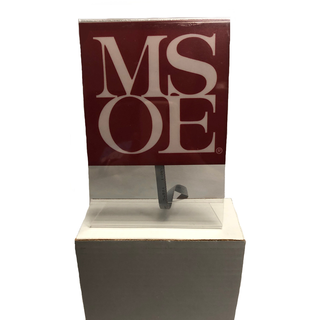 LIGHTED MSOE SIGN