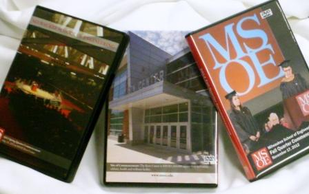 Image For MSOE Commencement DVD's