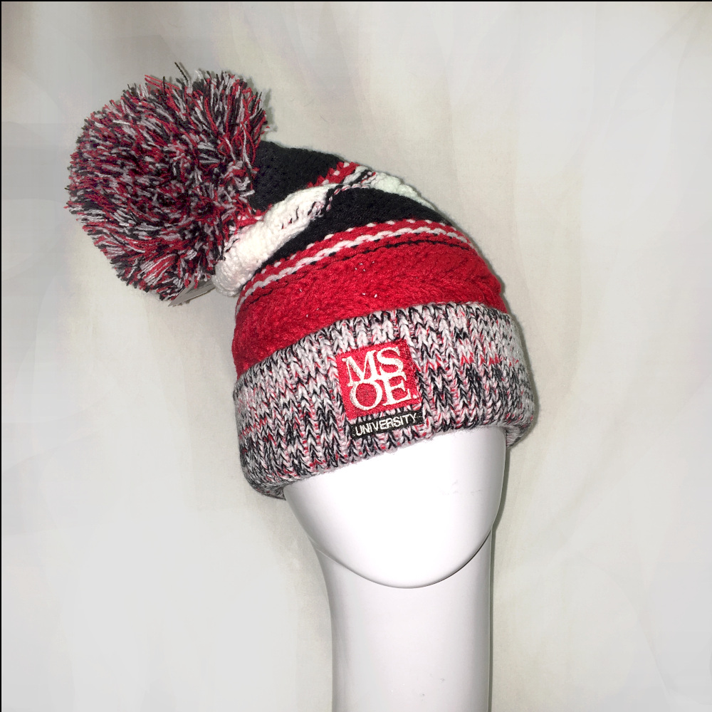 Image For HAT - POM POM KNIT BEANIE