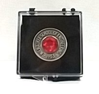 Image For LAPEL PIN GEM STONE ROUND