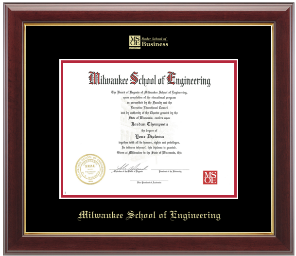 Image For Diploma Frame Embossed Business Logo