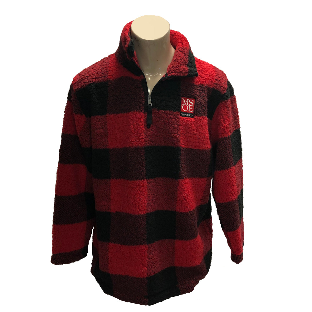 Image For SHERPA BX 1/4 ZIP PLAID