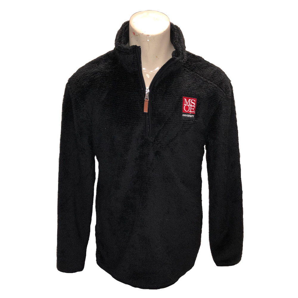 Image For SHERPA 1/4 ZIP - BX FUZZY PULLOVER